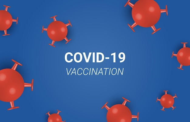 Vaccino contro il coronavirus e prevenzione dell'iniezione di siringhe, immunizzazione da coronavirus, sfondo vettoriale del vaccino contro il coronavirus. vaccinazione contro il virus corona covid-19 con flacone di vaccino