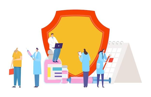 Crisi medica epidemica del programma di vaccinazione mondiale contro il coronavirus