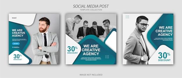 Banner aziendale dal design moderno