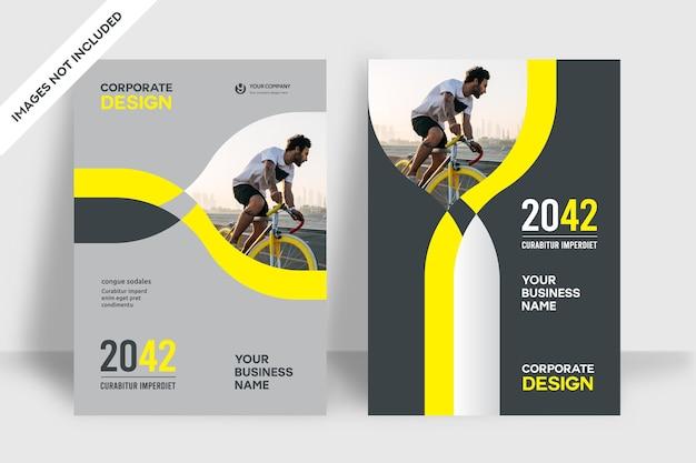 Modello di progettazione della copertina del libro aziendale