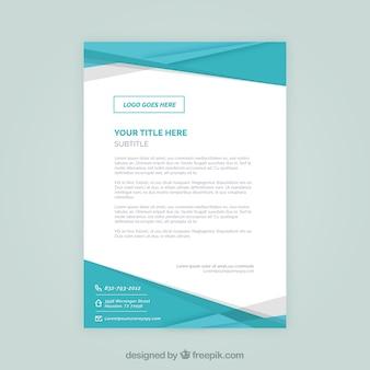 Brochure aziendale, colore blu