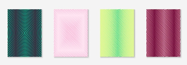 Pagina di copertina della brochure aziendale. volantino semplice, libro, diario, modello di carta da parati. giallo e rosa. copertina brochure aziendale con elemento geometrico minimalista.