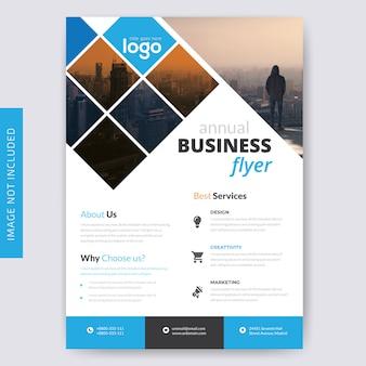 Modello di brochure aziendale per le imprese