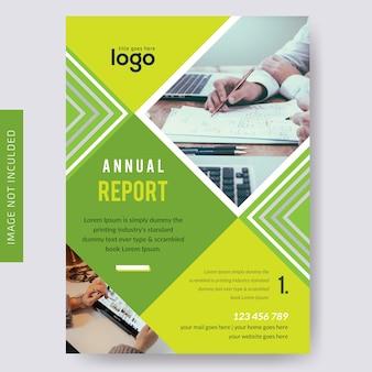 Brochure aziendale per la relazione annuale