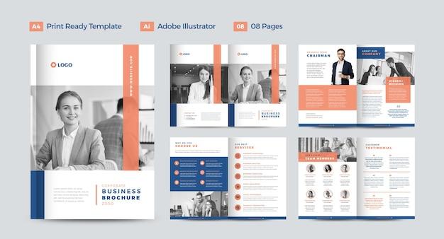 Progettazione brochure aziendale o relazione annuale e progettazione del profilo aziendale o progettazione di opuscoli e cataloghi