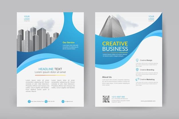 Progettazione di brochure aziendali aziendali