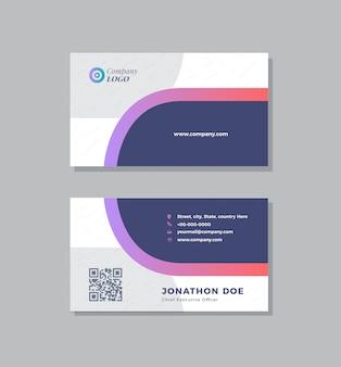 Progettazione di biglietti da visita aziendali | biglietto da visita e biglietto da visita personale