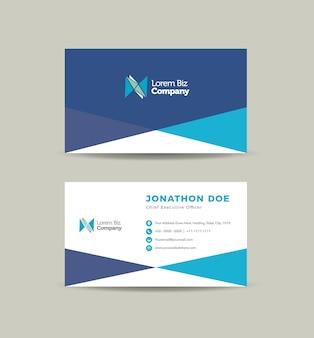 Progettazione di biglietti da visita aziendali o biglietti da visita e biglietti da visita personali