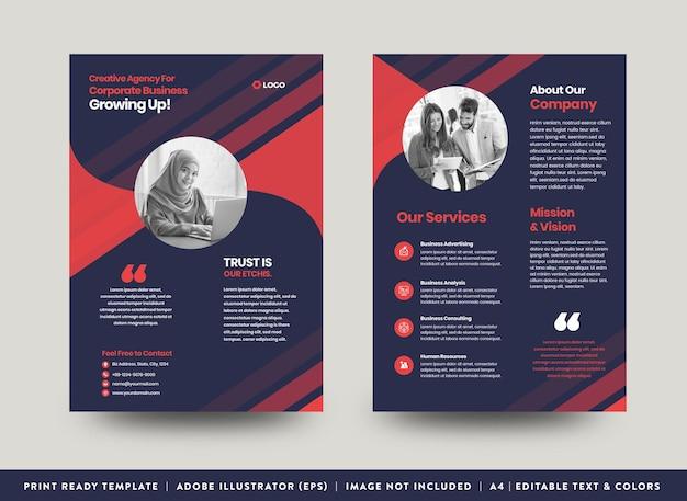 Progettazione di volantini aziendali aziendali o progettazione di volantini e volantini o foglio di marketing progettazione di brochure
