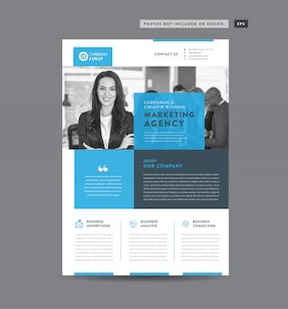 Progettazione di volantini per aziende | progettazione di volantini e volantini | progettazione di fogli di marketing