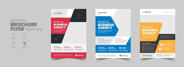 Corporate business flyer poster opuscolo copertina brochure design