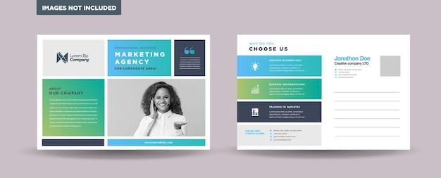 Progettazione di cartoline aziendali aziendali o save the date invitation card o direct mail eddm design