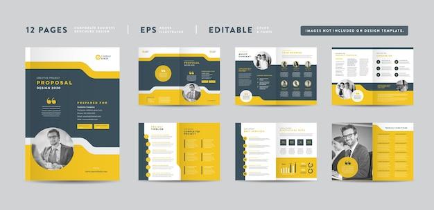 Progetto di proposta di progetto aziendale aziendale