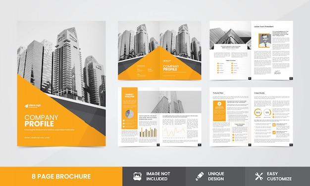 Modello brochure - azienda