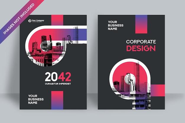 Modello di copertina aziendale