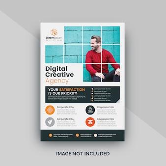 Modello di volantino digitale aziendale