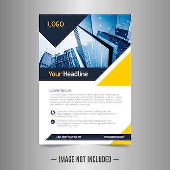 Modello di corporate flyer design