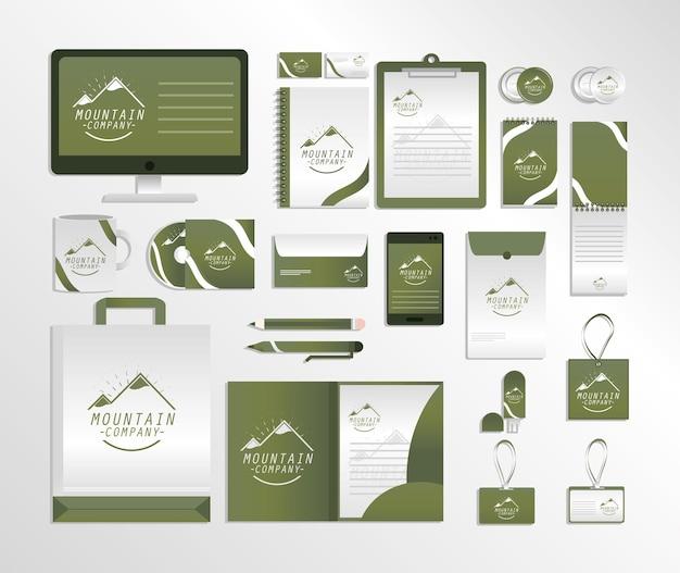Identità aziendale creativa