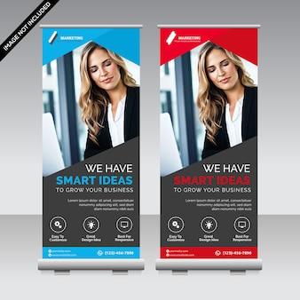 Banner roll-up aziendale premium