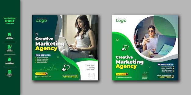 Promozione di affari di vendita di digital dell'insegna del quadrato della posta di media sociali sociali