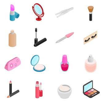Set di icone cosmetiche