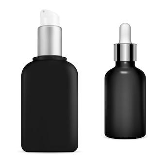 Contenitore per pompa cosmetica