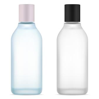 Bottiglia d'acqua cosmetica prodotto siero per la pelle del viso