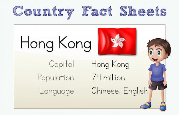 Scheda informativa del paese di hong kong