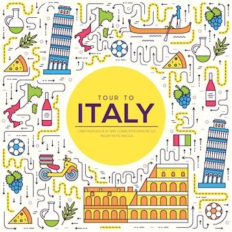 Paese italia viaggio vacanza guida delle merci