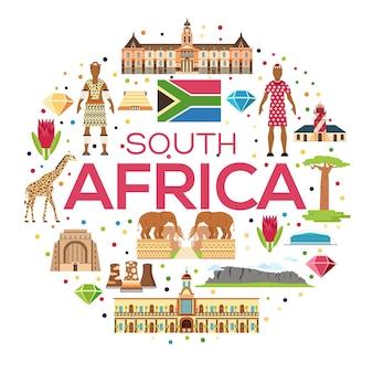 Paese sud africa guida turistica di merci, luoghi e caratteristiche.