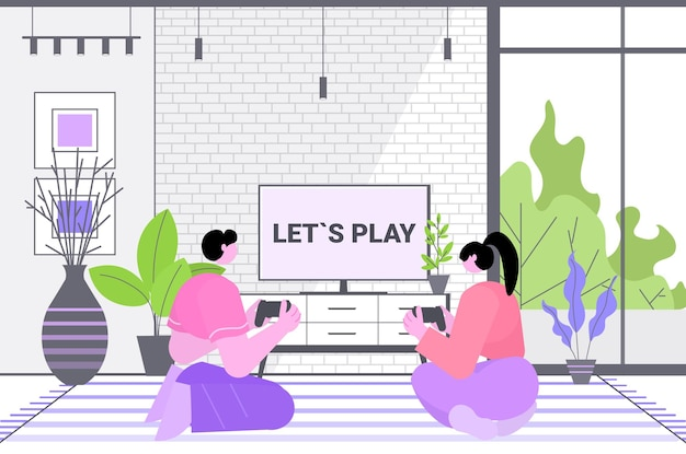 Coppia che si diverte a giocare ai videogiochi uomo donna che utilizza gamepad wireless controller gioco e-sport tempo libero settore dei giochi