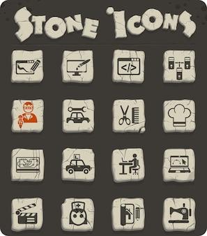 Icone web dei corsi per la progettazione dell'interfaccia utente