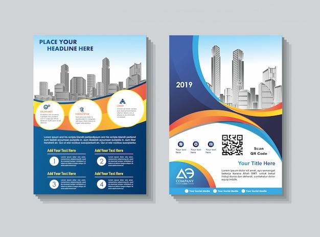 Coprire il volantino del rapporto annuale