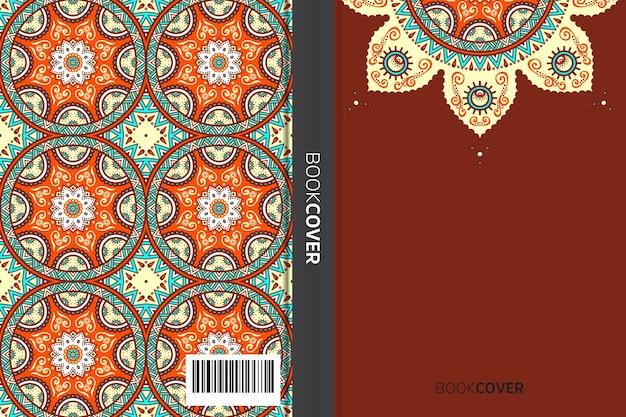 Copertina del libro con disegno dell'elemento mandala