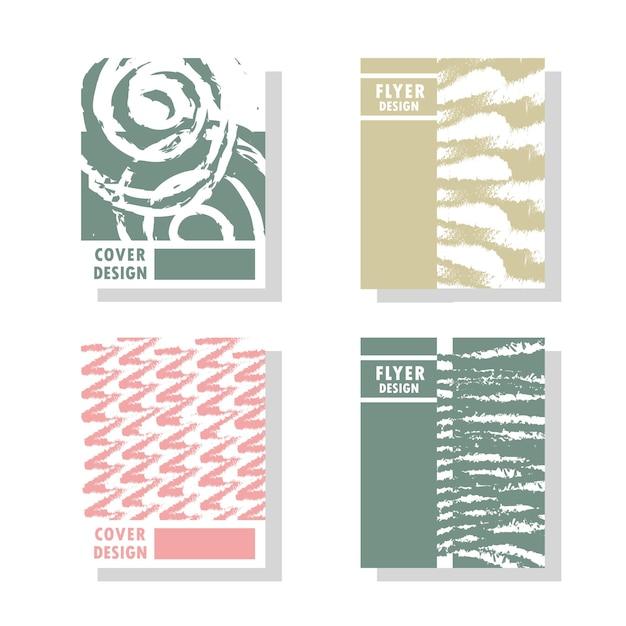 Collezione di design di copertina