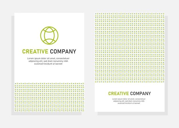 Modello di progettazione della copertina. volantino, modello di progettazione brochure. perfetto per il marketing aziendale, la promozione, la presentazione. vettore modificabile