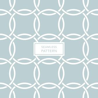 Modello di copertina con sfondo verde e bianco. seamless pattern geometrici.