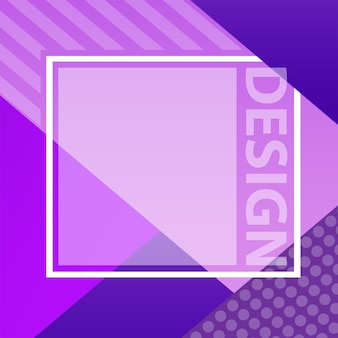 Copertina con disegno astratto. gradienti moderni freddi. applicabile per striscioni, cartelli, poster, volantini e disegni. colore ultravioletto del 2018