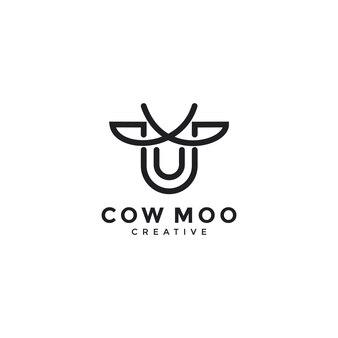 Illustrazione del concetto di foglia di mucca