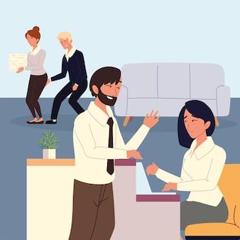 Molestie sul posto di lavoro da parte dei colleghi