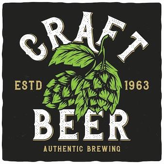 Produzione di birra artigianale