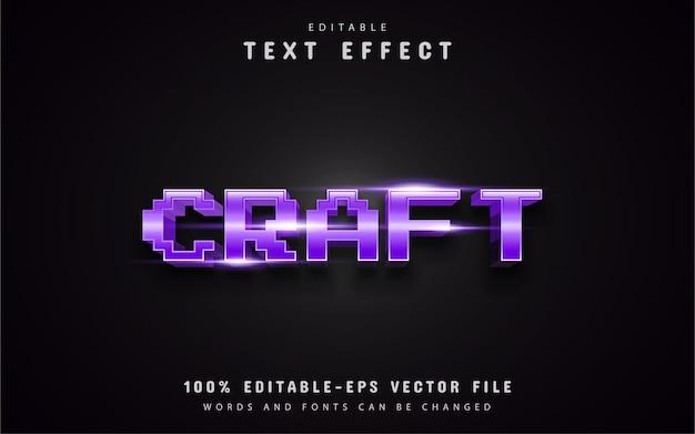 Crea effetti di testo pixel