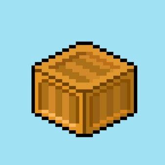 Cassa con stile pixel art