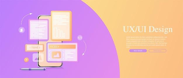 Crea un design personalizzato per un'applicazione mobile ui ux design sviluppo del design di applicazioni