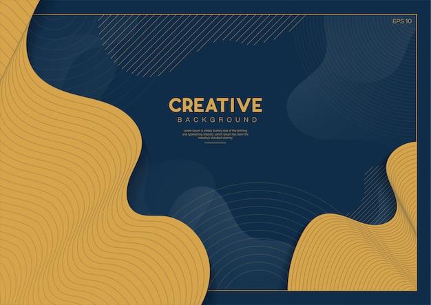 Sfondo astratto creativo
