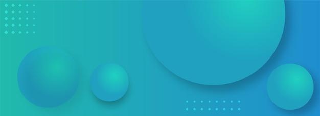 Modelli web di banner astratti creativi banner pronti per l'uso nel web o nel design di stampa