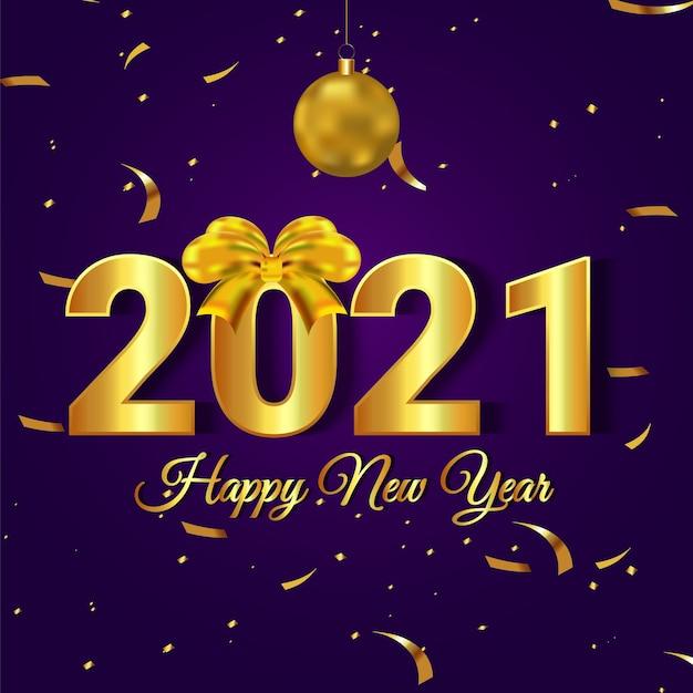 Sfondo creativo per felice anno nuovo