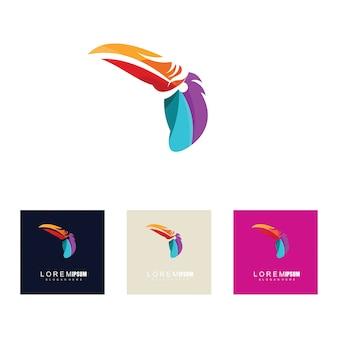 Concetti di design di uccelli creativi