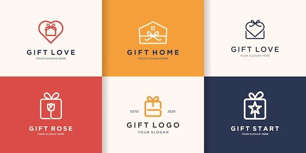 Logo regalo aziendale creativo