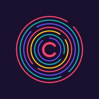 Progettazione di connessioni creative. dati di rete circolari